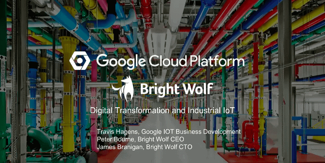 Digital Transformation and Industrial IoT on Google Cloud Platform
